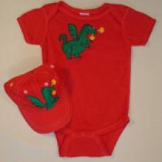 Dragon Onesie Gift Set