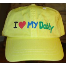 I Love My Daddy Cap