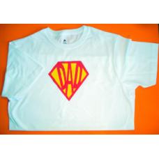 Super Heroes Dad Tee
