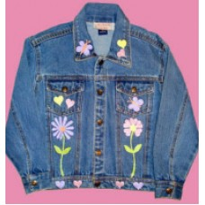 Daisy Chain Denim Jacket