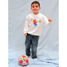 Soccer Star Bear Sweatshirt